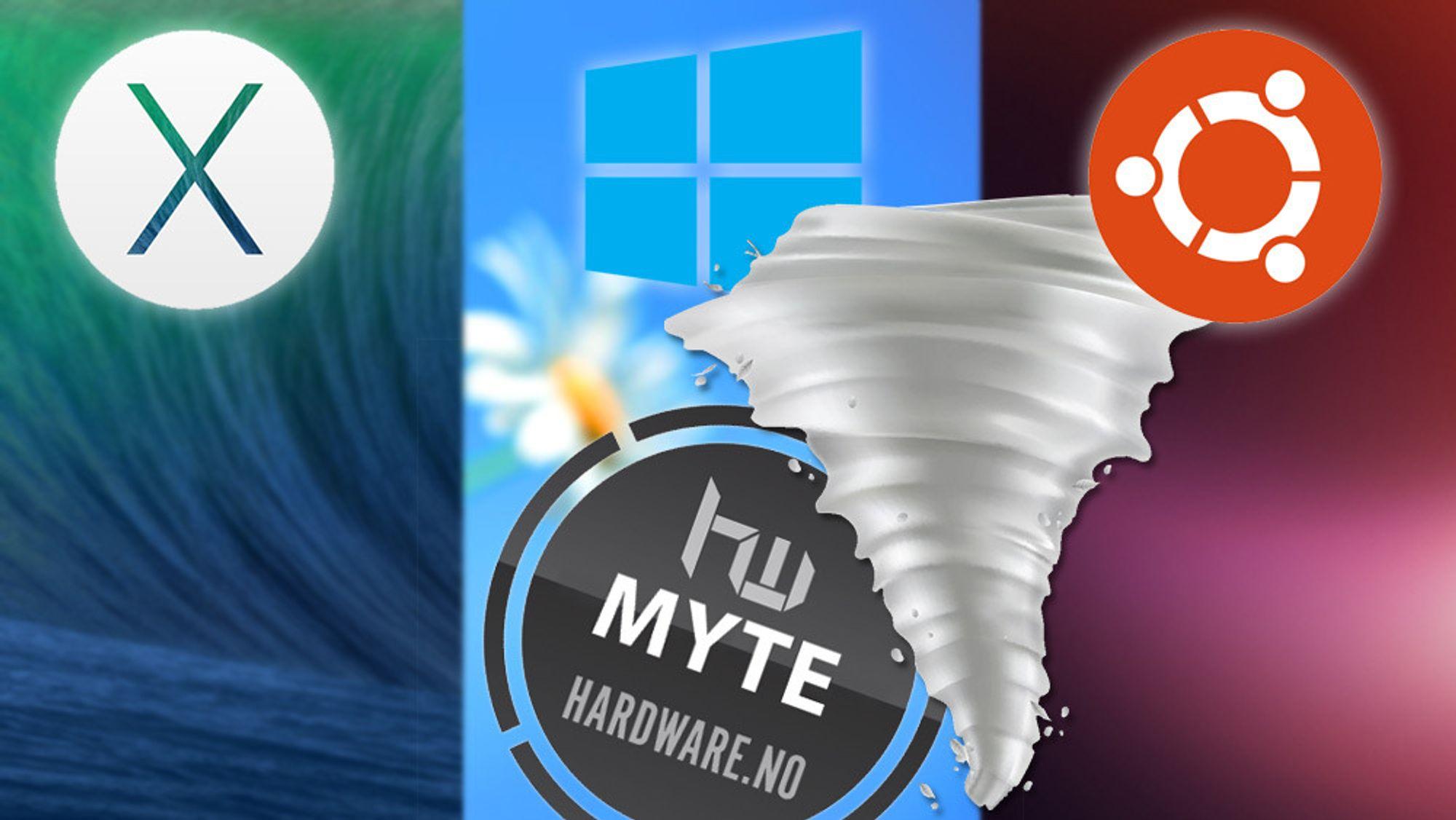 Hvilket operativsystem er mest effektivt?