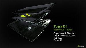Nvidia har laget et referansenettbrett basert på Tegra K1.