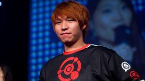 «HyuN» etter å ha vunnet DreamHack Valencia i 2013.