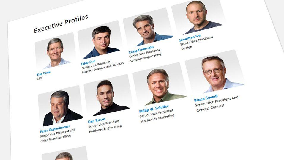 – Det er kun hvite menn i Apple-ledelsen
