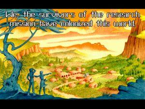 Bilde fra introduksjonen til Star Control 2 (Bilde: Toys for Bob).