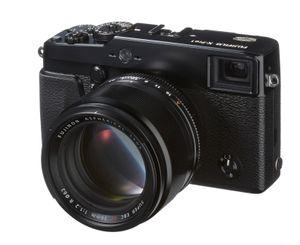 Her vises det nye objektivet på Fujifilm X-Pro1.