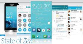 ZenFone-modellene har Android 4.3, som kan oppgraderes til 4.4 (Kitkat). Her ser du bilder av telefonenes Asus-tilpassede brukergrensesnitt. (Klikk for større bilde).