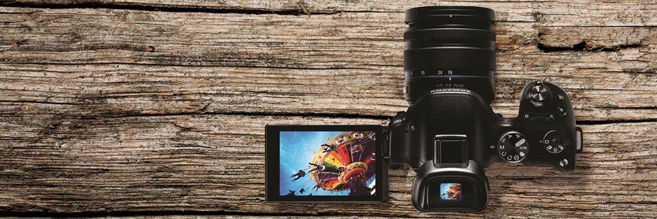 Samsungs NX30 er selskapets nye entusiastmodell