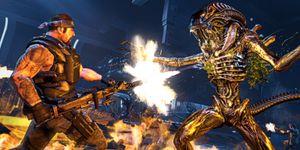 Det skumleste med Aliens: Colonial Marines var at spillet passerte kvalitetskontrollen til Sega. (bilde: Sega).