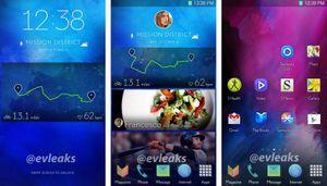 Blir Galaxy S5-menyene slik?