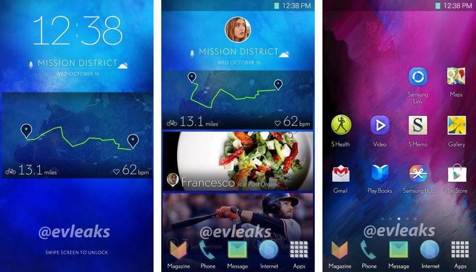 RYKTE: Slik kan Samsungs neste menyer se ut