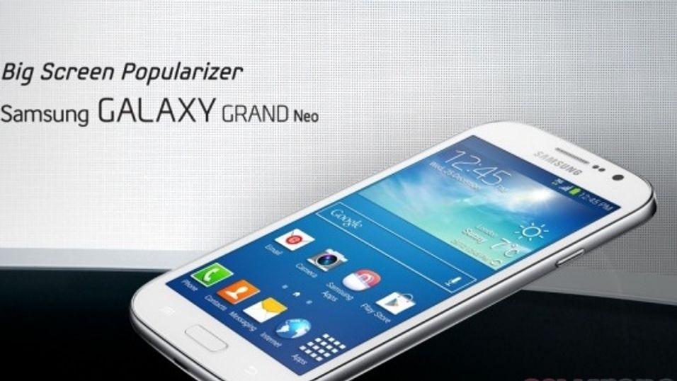 Samsungs nye storskjermmobil er lekket