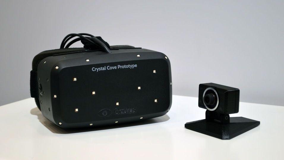 Sjekk ut de splitter nye Oculus Rift-brillene