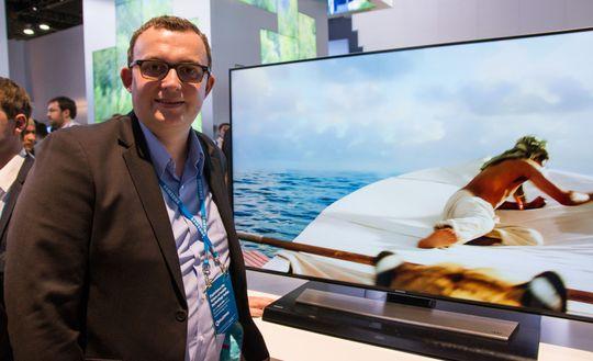 Knut-Eirik Rørnes i Samsung.