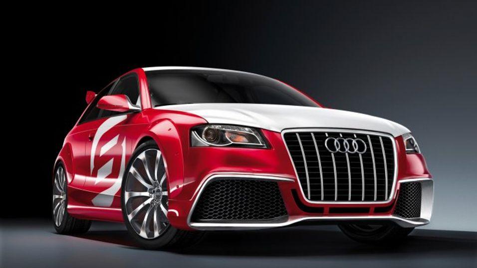 Hva med en Audi A3 TDI Clubsport Quattro - kanskje med en LTE-basert wifi-sone inkludert?