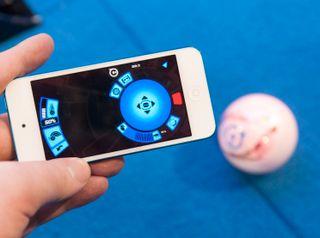 Slik ser Orbotix-appen ut nå.
