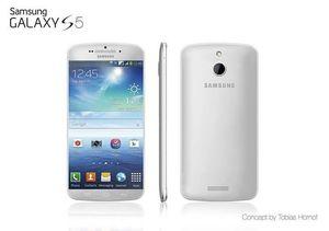 Et annet konseptbilde av Galaxy S5, fra Tobias Hornof. .