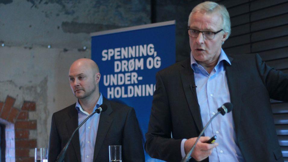 Administrerende direktør Torbjørn Almlid i Norsk Tipping anonnserte at de åpner for 65 nye nettspill i januar.
