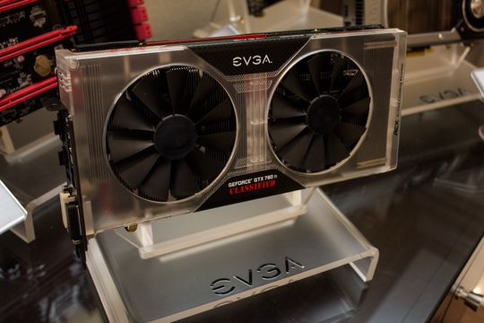 EVGA GeForce GTX 780 Ti Classified K|ngp|n Edition.