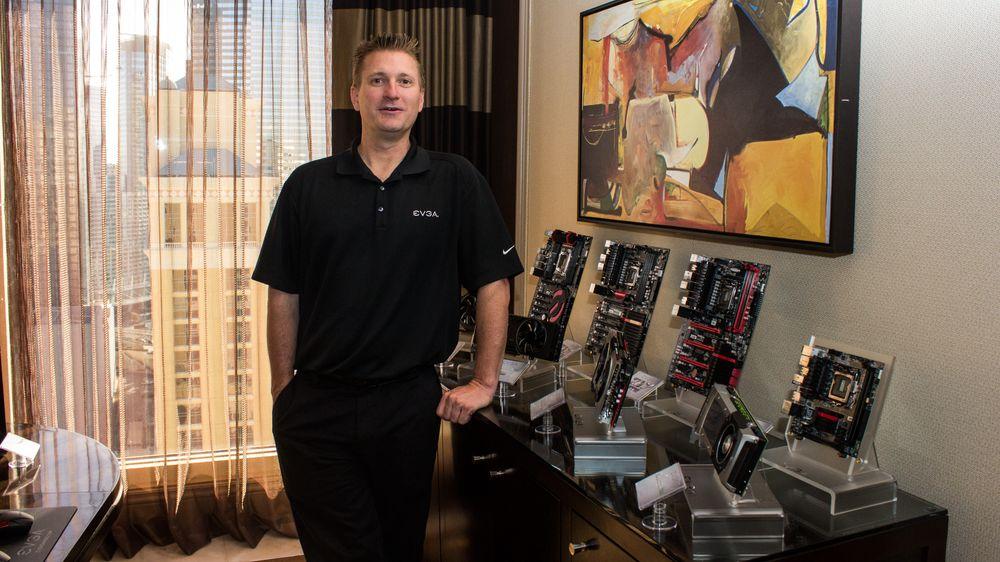 Joe Darwin er EVGA sin globale markedssjef, og forteller at det selskapet har laget så langt bare er begynnelsen.