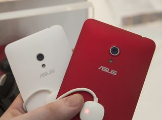 De to største ZenFone-modellene.
