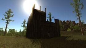 I Rust må spillerne bygge egne hus for å beskytte seg mot zombier og andre spillere. (Foto: Facepunch Studios).