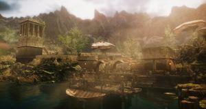 Vi utforsker 12 år gamle Morrowind i en slående Skyrim-drakt