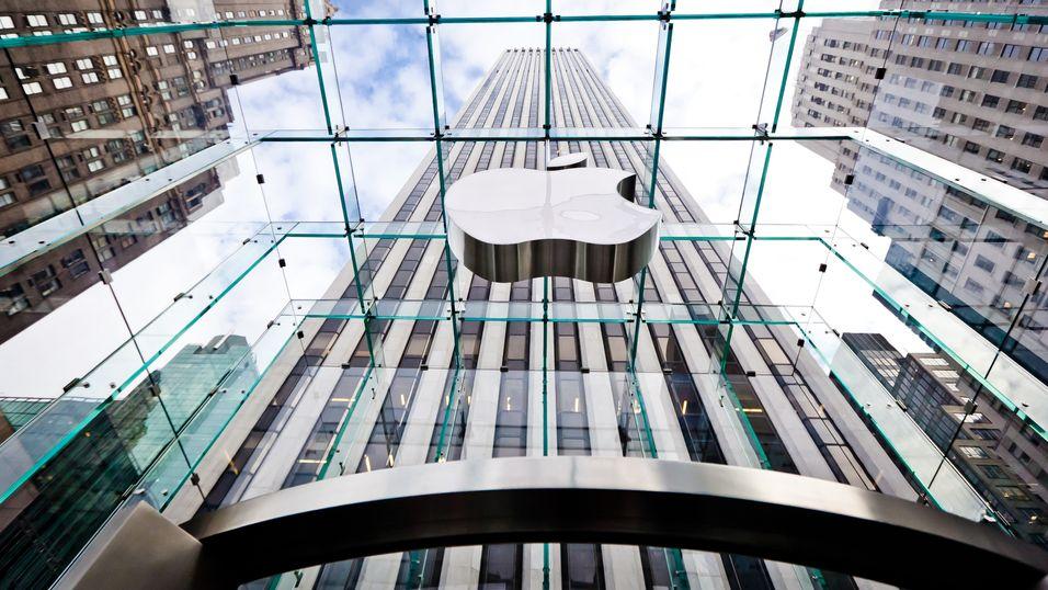Spår vekst for Apple i bedriftsmarkedet