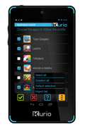 Kurio 4S Touch mangler SIM-kort.