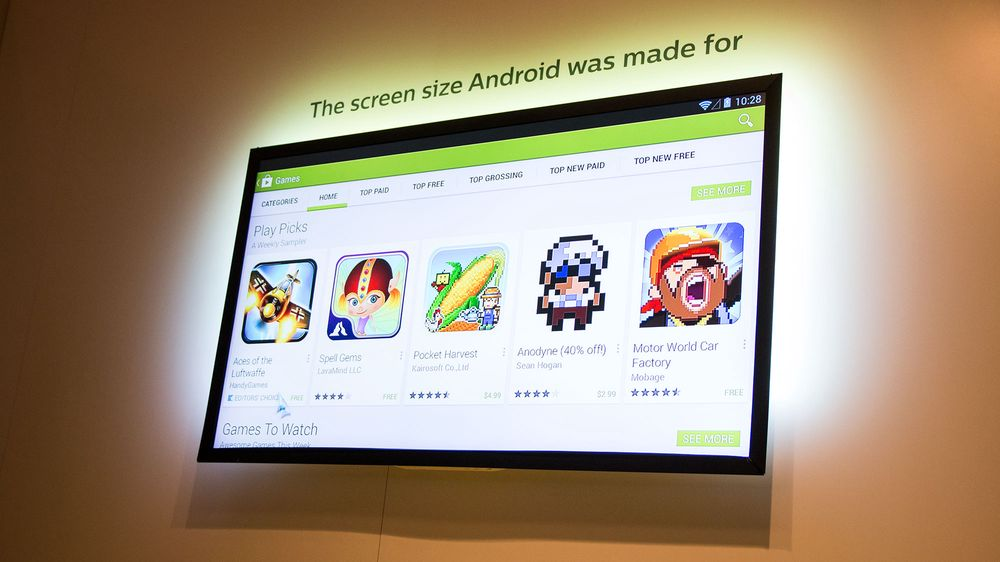 Philips tar i bruk Googles operativsystem i TV-en