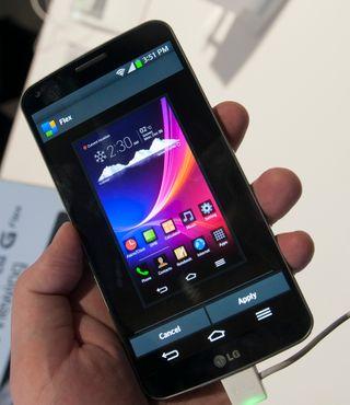 Menyene er litt annerledes på G Flex enn på tidligere LG-telefoner.