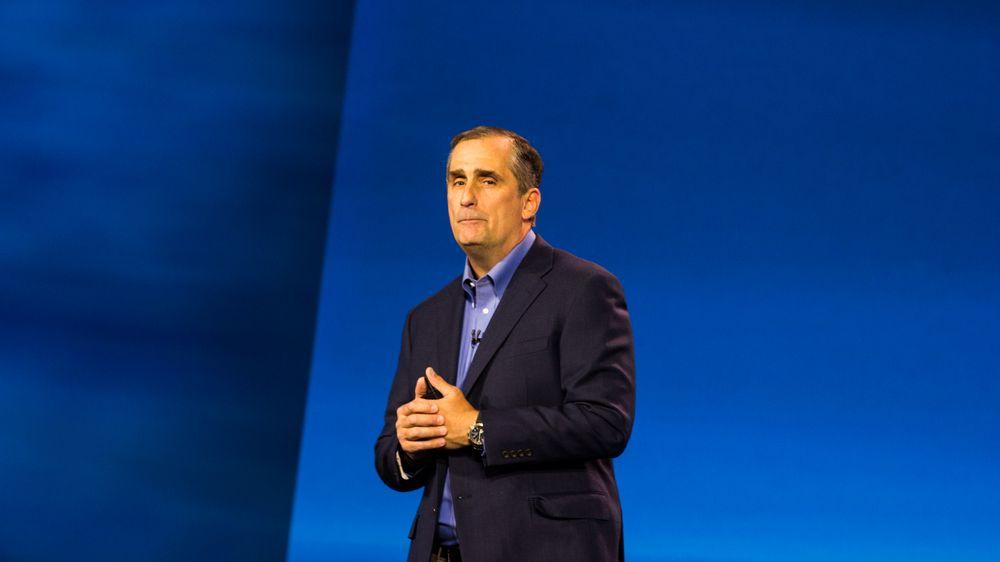 Brian Krzanich, administrerende direktør i Intel.