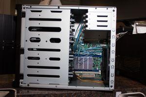 Her ser du DS380 fra siden.