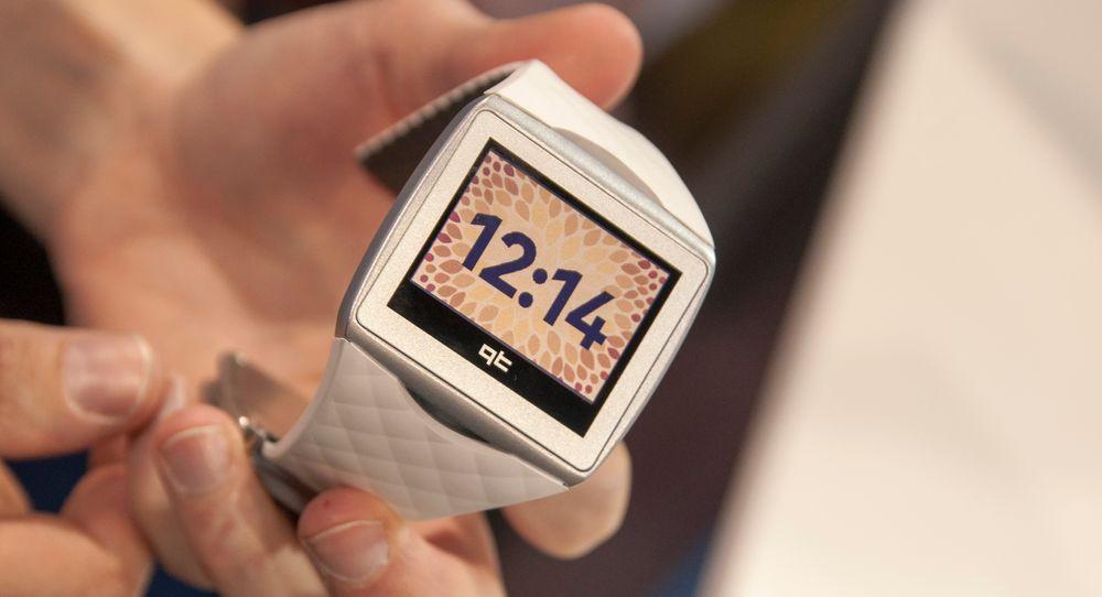 Qualcomm Toq ble lansert i fjor høst, men salget av klokken begynner nå. Her nytt av året er også en hvit utgave.
