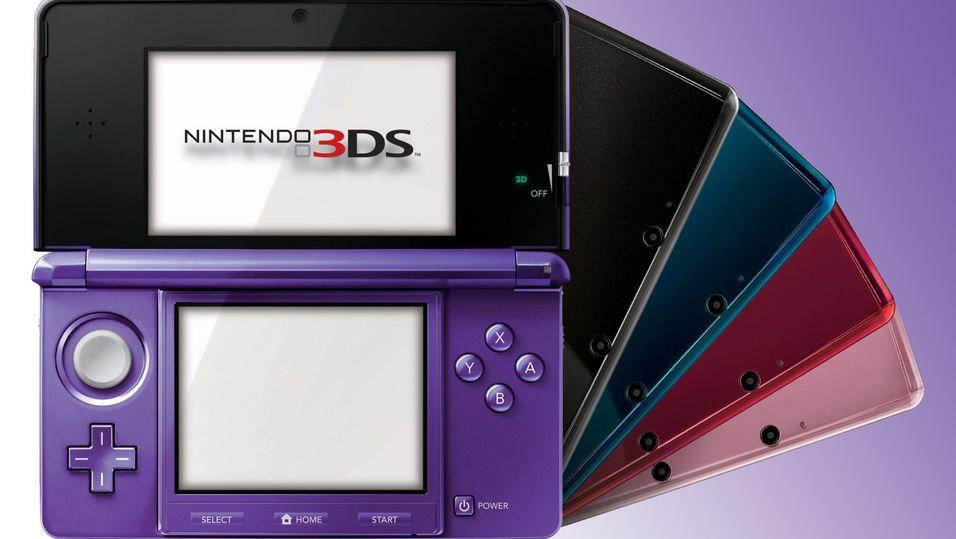 Nintendo 3DS solgte mange spill i fjor.