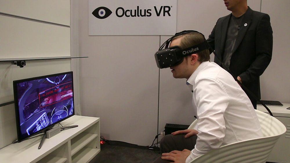 SNIKTITT: Vi har testet nye Oculus Rift – og den er fantastisk