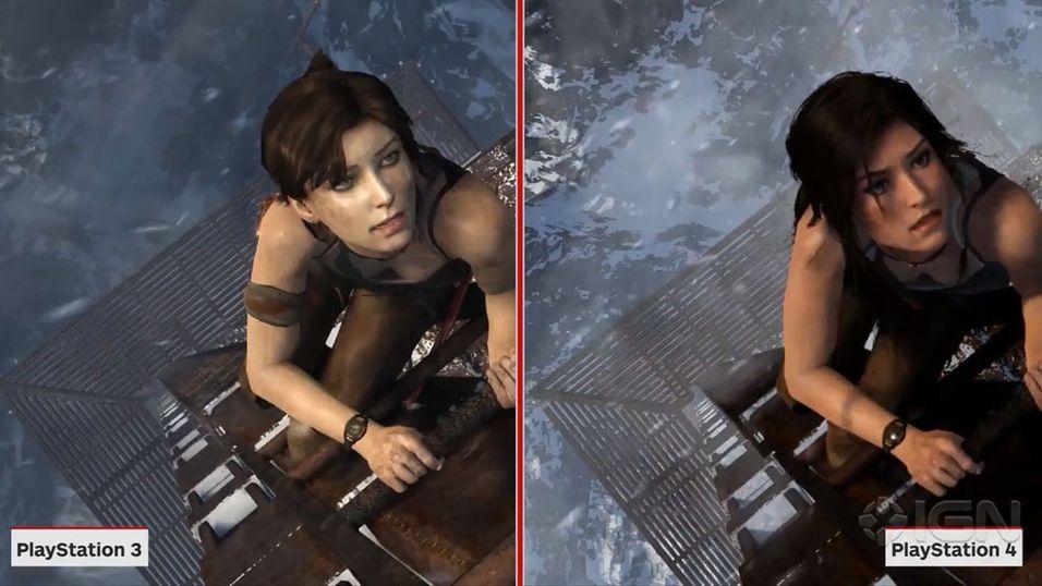 Så lekker blir Lara Croft på PS4