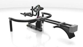 Riggen kan også utstyres med skulderstativ.