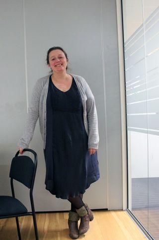 Linn Søvig jobber for spillmakerlauget som prosjektleder for nosjonalt kompetansesenter for spill i Norge. FOTO: Marius Kjørmo.
