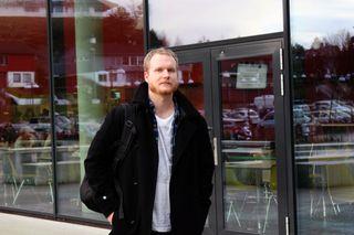 Tobias Staaby underviser i historie, norsk og religion ved Nordahl Grieg videregående skole.