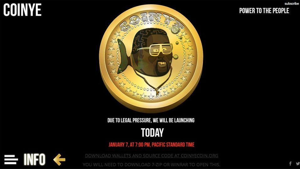 Kanye West saksøker Coinye West