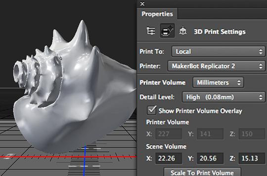 Adobe Photoshop - nå også med 3D-printerstøtte.