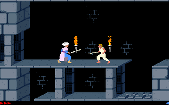 Originale Prince of Persia for DOS.