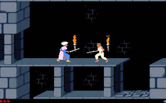 Originale Prince of Persia for DOS.