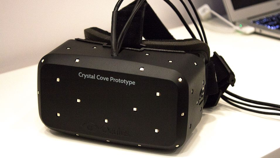 Oculus' nyeste prototyp, Crystal Cove.