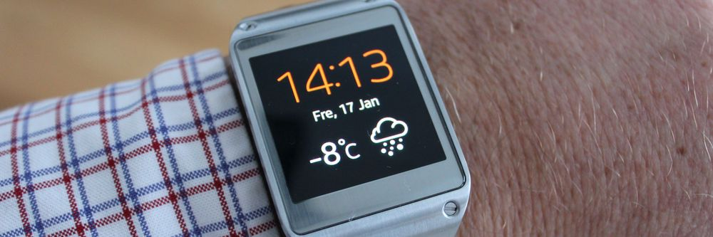Samsung Galaxy Gear ser mer eksklusiv ut enn mange andre smartklokker.