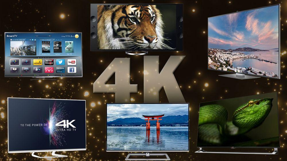 SAMLETEST: En av disse seks 4K-TV-ene er best