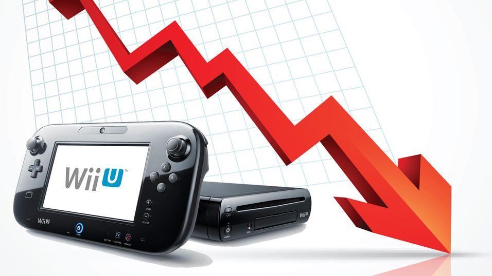 Wii U-salget er ikke på topp.