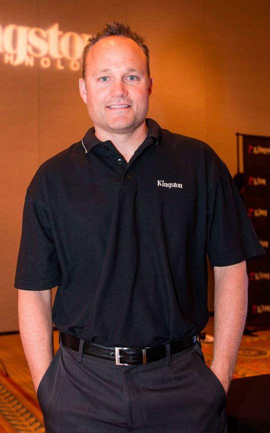 Cameron Crandall, SSD-ingeniør hos Kingston.
