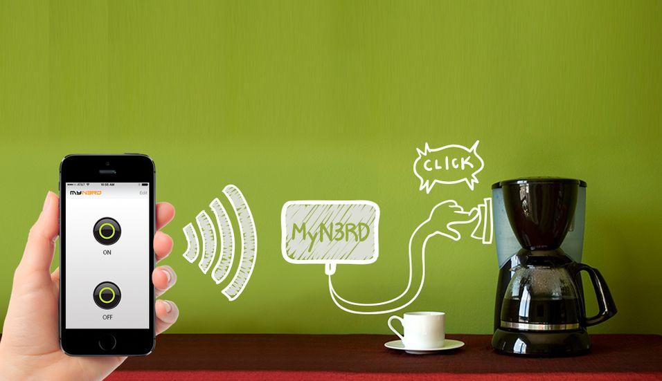 DAGENS DINGS: Denne dingsen lar deg styre «alt» fra mobilen