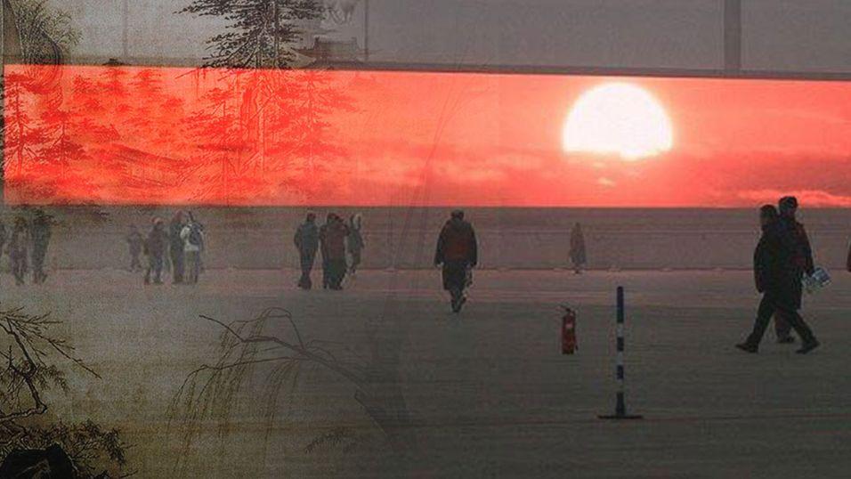 I Kina viser de soloppgang på TV