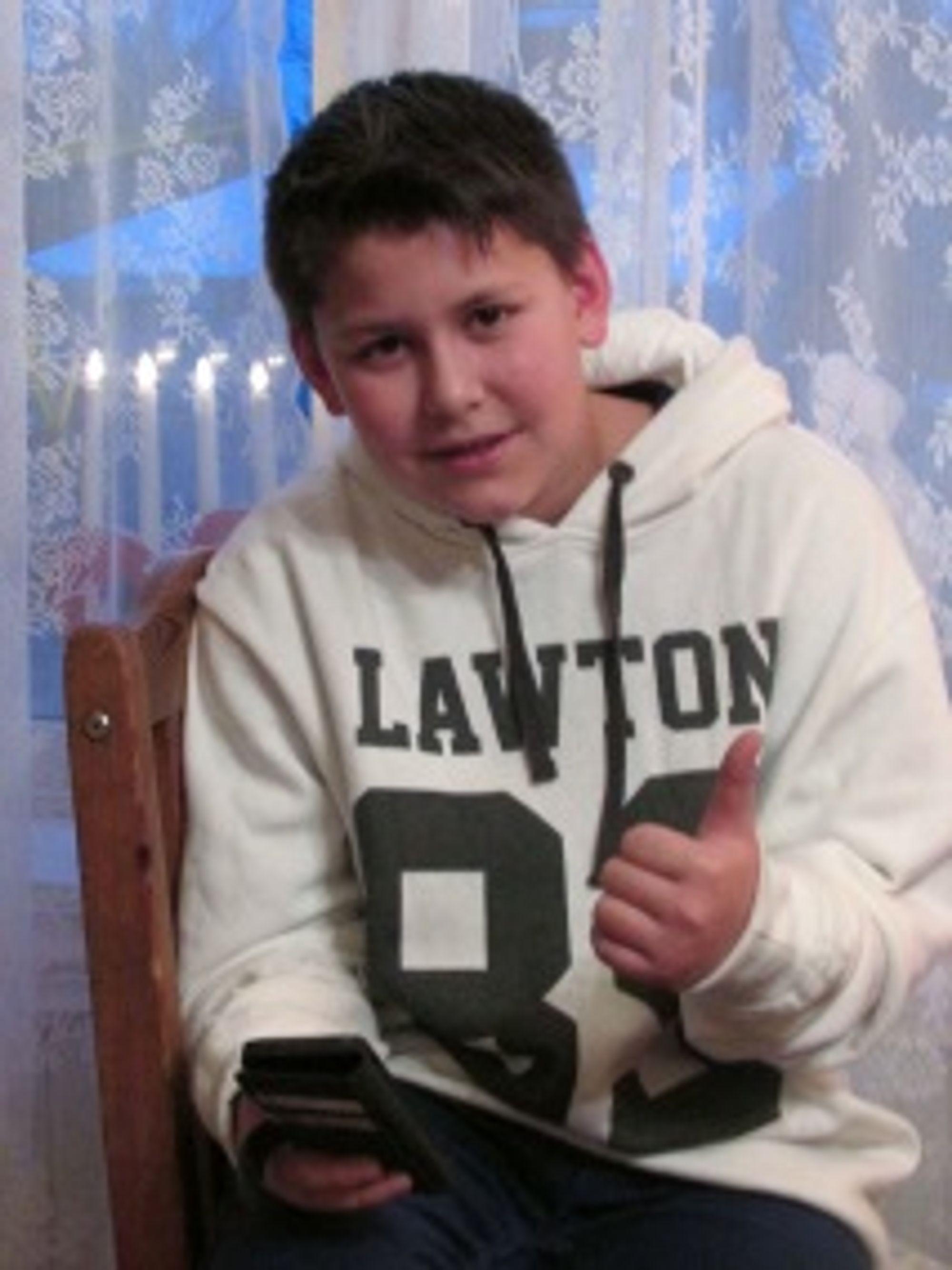 13 år gamle Magnus Bollingberg har prøvd den nye matte-appen.