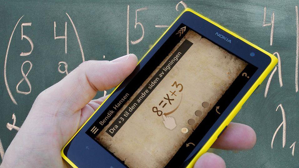 Norsk app lover å gjøre ligninger til en lek