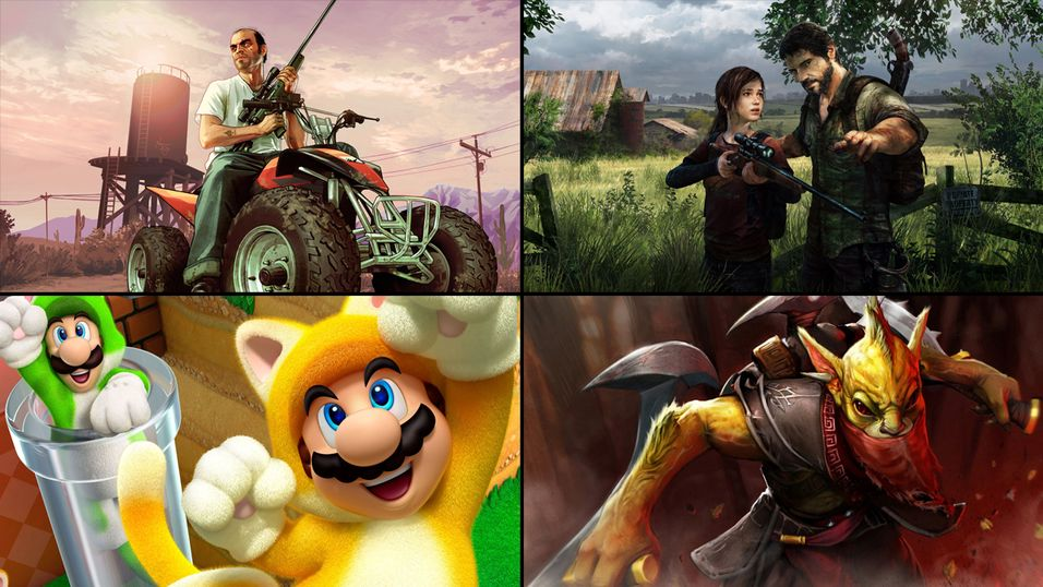 Hvilket spill likte du best i 2013?